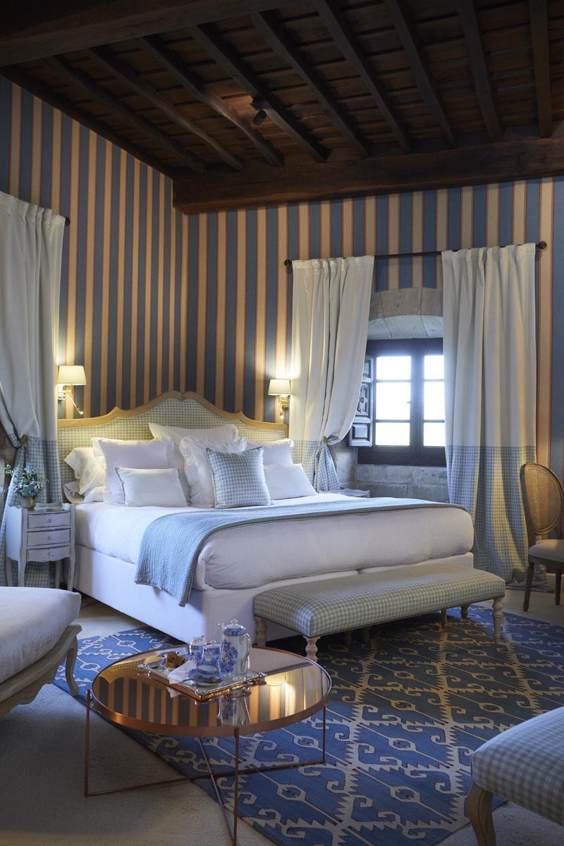 Retire to a timelessly elegant room